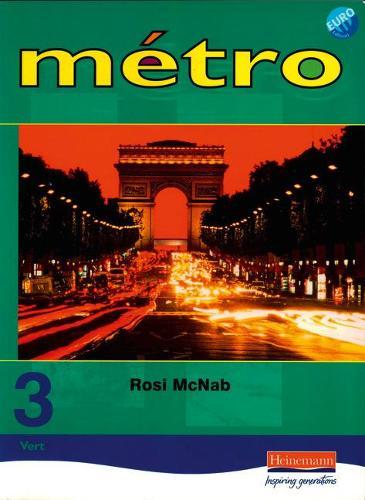 Metro 3 Vert Pupil Book Euro Edition - Metro for 11-14 (Paperback)