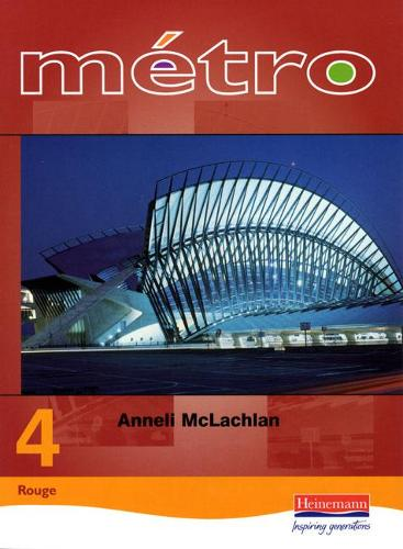 Metro 4 Higher Student Book - Metro for Key Stage 4 (Paperback)