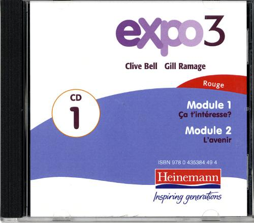 Expo 3 Rouge Audio CDs (pack of three) - Expo (CD-Audio)