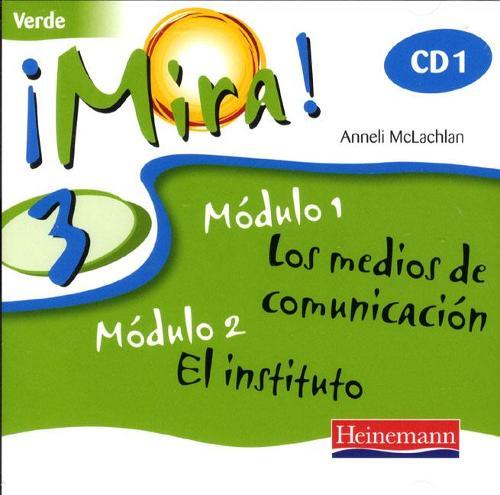 Mira 3 Verde Audio CD (Pack of 3) - Mira (CD-Audio)
