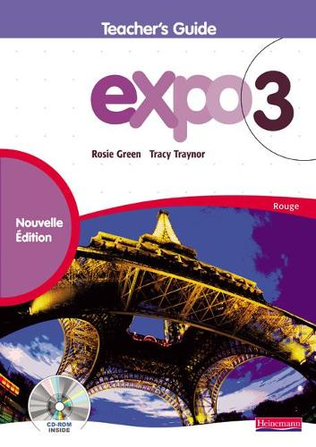 Expo 3 Rouge Teacher's Guide New Edition - Expo