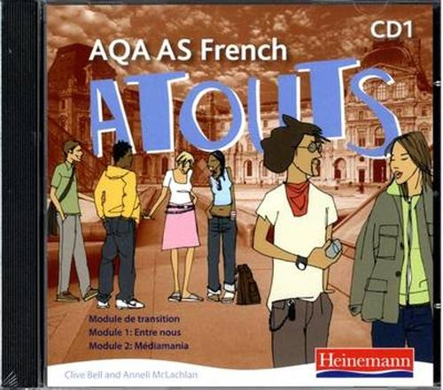 Atouts: AQA AS French Audio CD Pack of 2 - AQA Atouts (CD-Audio)