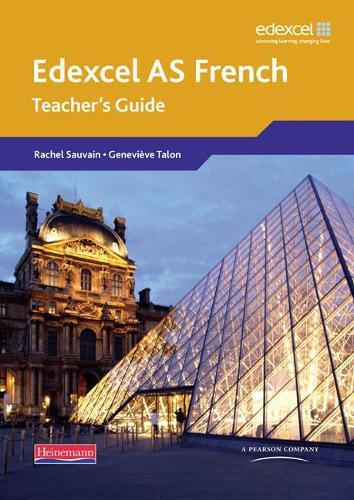 Edexcel A Level French (AS) Teacher's Guide & CDROM - Edexcel GCE French
