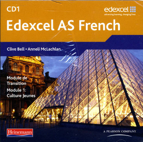 Edexcel A Level French (AS) Audio CD Pack of 3 - Edexcel GCE French (CD-Audio)