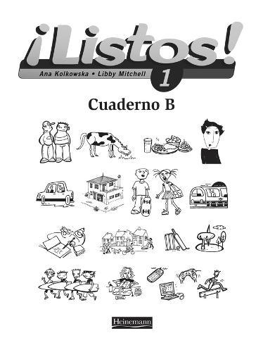 Listos! 1 Workbook B Pack of 8 - Listos for 11-14