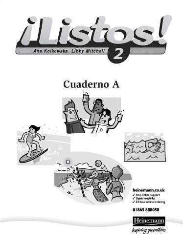 Listos! 2 Verde Workbook (Pack of 8) - Listos for 11-14