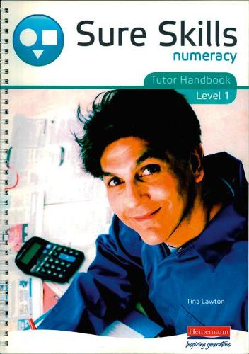 Sure Skills Numeracy Level 1 Tutor Handbook (Spiral bound)