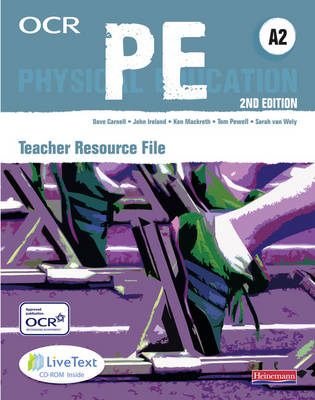 OCR A2 PE Teaching Resource File with CD-ROM - OCR GCE PE