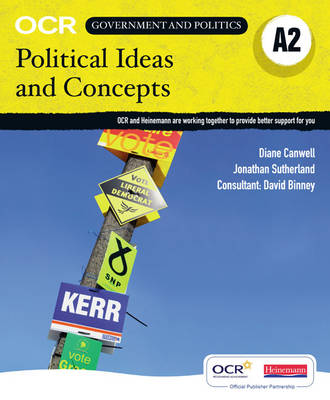 OCR A2 Political Ideas and Concepts Student Book - OCR GCE Government and Politics 2008 (Paperback)