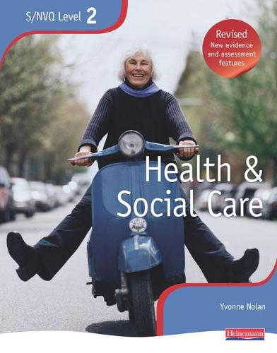 NVQ/SVQ Level 2 Health and Social Care Candidate Book, Revised Edition - NVQ/SVQ Health and Social Care (Paperback)