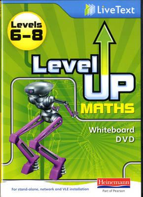 Level Up Maths: LiveText Whiteboard CD-ROM (Level 6-8) - Level Up Maths (CD-ROM)
