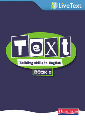 Text: Building Skills in English 11-14 LiveText 2 - Text: Building skills in English (CD-ROM)