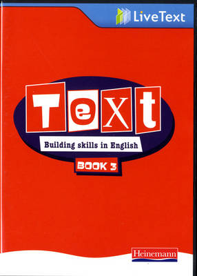 Text: Building Skills in English 11-14 LiveText 3 - Text: Building skills in English (CD-ROM)