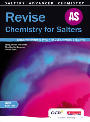 Revise AS for Salters New Edition - Salters GCE Chemistry (Paperback)