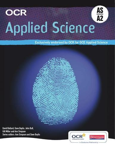 OCR Applied Science AS & A2 Student Book - OCR AS Science (Paperback)