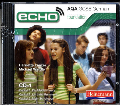 Echo AQA GCSE German Foundation Audio CD Pack - AQA Echo GCSE German (CD-Audio)