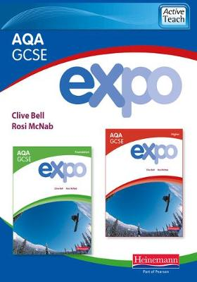 Expo AQA GCSE French ActiveTeach (Higher & Foundation)CDROM - AQA Expo GCSE French (CD-ROM)