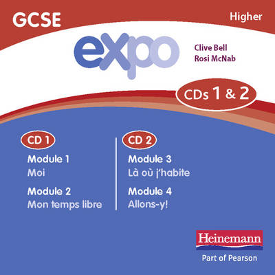 Expo (OCR&AQA) GCSE French Higher Audio CDs (pack of 3) - AQA Expo GCSE French (CD-Audio)