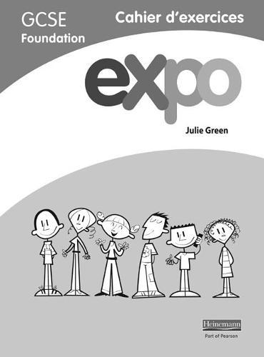 Expo (AQA&OCR) GCSE French Foundation Workbook pack of 8 - AQA Expo GCSE French