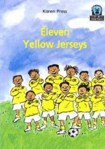 Eleven Yellow Jerseys - Junior African Writers: Starters Level 2 (Paperback)