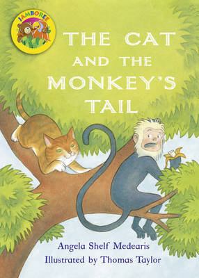 Jamboree Storytime Level B: The Cat and the Monkey's Tail Big Book - Jamboree Storytime (Paperback)