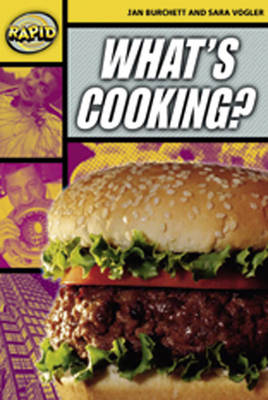 Rapid Stage 4 Set A: What's Cooking? Reader Pack of 3 (Series 2) - RAPID SERIES 2