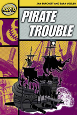 Rapid Stage 4 Set A: Pirate Trouble Reader Pack of 3 (Series 2) - RAPID SERIES 2