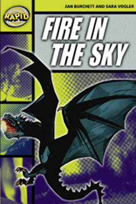 Rapid Stage 6 Set A: Fire in the Sky Reader Pack of 3 (Series 2) - RAPID SERIES 2