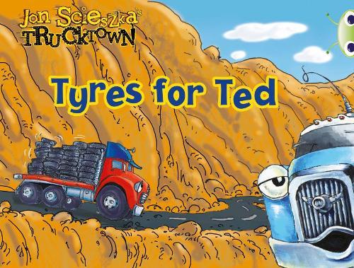 Trucktown, Tyres for Ted: BC Lilac Trucktown: Tyres for Ted Lilac - BUG CLUB (Paperback)