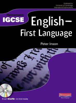 Heinemann IGCSE English - First Language Student Book with Exam Cafe CD - Heinemann IGCSE