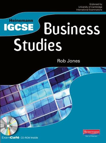 Heinemann IGCSE Business Studies Student Book with Exam Cafe CD - Heinemann IGCSE