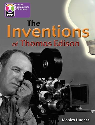PYP L5 The Inventions of Thomas Edison 6PK - Pearson Baccalaureate PrimaryYears Programme