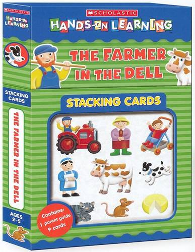 The Farmer in the Dell: Hands-on Learning Stacking Cards