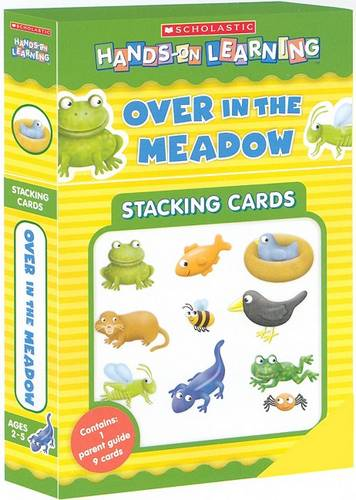 Over in the Meadow: Hands on Learning Stacking Cards