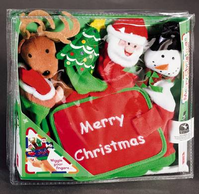 Merry Christmas - Hand Puppet Board Books (Board book)