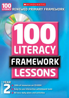 100 New Literacy Framework Lessons for Year 2 with CD-Rom - 100 Literacy Framework Lessons
