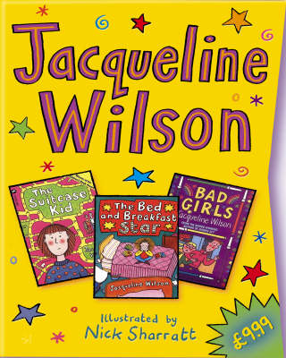 "Jacqueline Wilson Slipcase: ""Bad Girls"", ""The Bed and Breakfast Star"", ""The Suitcase Kid"" (Paperback)"