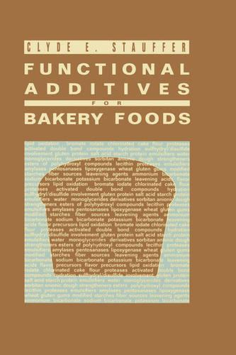 Functional Additives for Bakery Foods (Hardback)