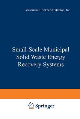 Small-scale Municipal Solid Waste Energy Recovery Systems (Hardback)