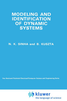 Modelling and Identification of Dynamic Systems (Hardback)