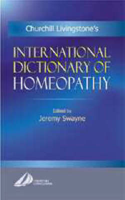 International Dictionary of Homeopathy (Hardback)