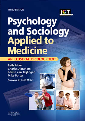 Psychology and Sociology Applied to Medicine: An Illustrated Colour Text (Paperback)