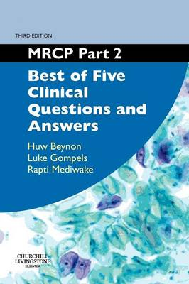 MRCP: Best of Five Clinical Questions and Answers Pt. 2 - MRCP Study Guides (Paperback)
