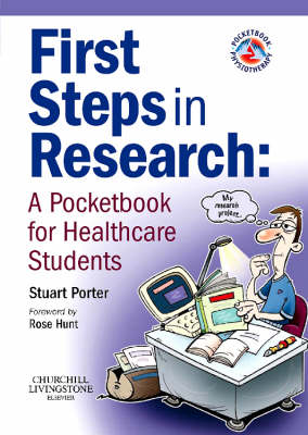 First Steps in Research: A Pocketbook for Healthcare Students - Physiotherapy Pocketbooks (Paperback)