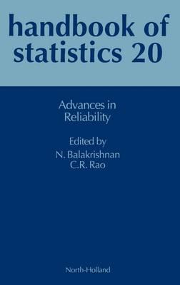 Advances in Reliability: Volume 20 - Handbook of Statistics (Hardback)