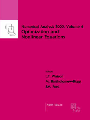 Nonlinear Equations and Optimisation: Volume 4 - Numerical Analysis 2000 (Paperback)