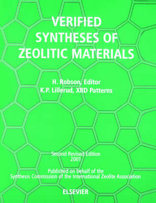 Verified Synthesis of Zeolitic Materials: Second Edition (Paperback)