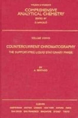 Countercurrent Chromatography: Volume 38 - Comprehensive Analytical Chemistry (Hardback)