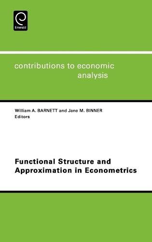 Functional Structure and Approximation in Econometrics - Contributions to Economic Analysis 261 (Hardback)