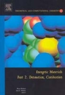 Energetic Materials: Energetic Materials Detonation, Combustion: Pt. 2 Volume 13 - Theoretical and Computational Chemistry (Hardback)